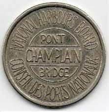 Champlain Bridge Token Barber, Bridge, Coins, Images, Bath, Personalized Items, House, Coining, Bathing