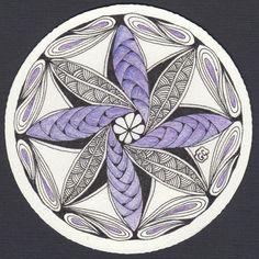 Zendala tile 04 by Amaryllis Creations, via Flickr