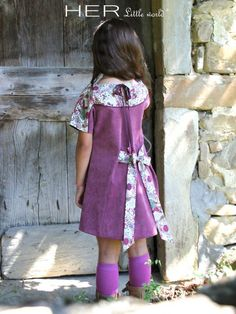 HER Little world, Patron de couture pour vêtement enfant, robe Spontanée