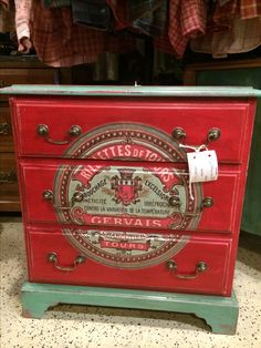 ASCP emperor's silk and custom color( Provence, Antibes green and pure white) with decoupage.  Clear and dark wax http://www.thenandnowpetoskey.com
