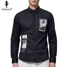 Find More Dress Shirts Information about Troilus 2016 Newest Unique Design Luxury Men Shirt Chemise Homme Print Long Sleeve Slim Dress Shirts Comfort Slim Fit Men Cloth,High Quality shirt snaps,China cloth pattern Suppliers, Cheap shirt shaped cake pan from Troilus Flagship Store on Aliexpress.com
