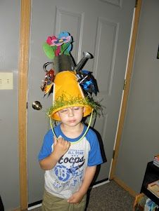 8683b982f31 Knox s spring hat for his parade at school  D