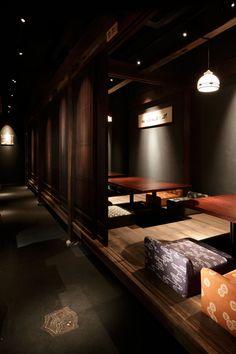 Fukui Bouyourou restaurant by HaKo Design, Tokyo  store design