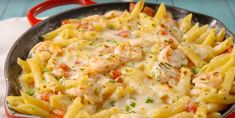 Here is the best dish gratin with garlic shrimp and pasta . Shrimp Risotto, Garlic Shrimp, Pasta Dinners, Caramel Recipes, Best Dishes, Fish And Seafood, Pasta Recipes, Macaroni And Cheese, Gourmet