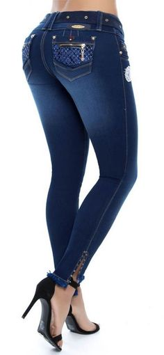 Jeans levanta cola NYE 62724 Sexy Jeans, Jeans Pants, Denim Jeans, Skinny Jeans, Pit Bull Jeans, Denim Fashion, Womens Fashion, Pants Outfit, Harrods