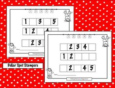 Here's a simple missing number activity.