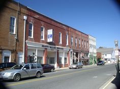 Downtown in the village of Onancock on Virginia's Eastern Shore.