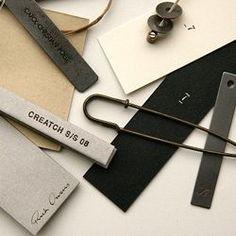 designer clothing label design - Google Search: