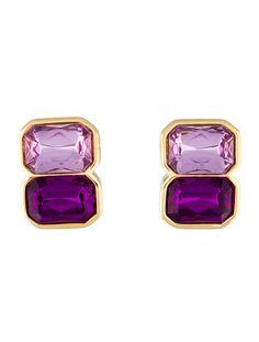 Kenneth Jay Lane Jewel Earrings - Jewelry - WKE20279 | The RealReal