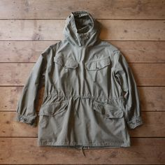1960S FRENCH ARMY SMOCK
