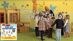 Ich bin 'ne kleine Schnecke - Singen, Tanzen und Bewegen || Kinderlieder