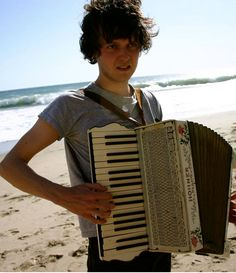 """""""Zach Condon from the band 'Beirut'."""" This guy is incredibly talented."""