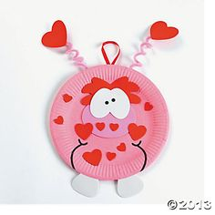 Paper Plate Valentine Monster Craft Kit