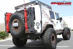 Jeep Wrangler Unlimited Custom Jerry Cans