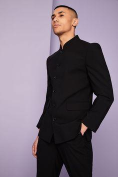 pánská a dámská banketová saka Nehru Jackets, Professional Look, Tailored Trousers, Take That, Formal, Long Sleeve, Sleeves, How To Wear, Men