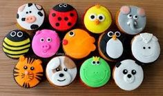 Cupcakes Versieren Roos 46 Ideas For 2019 Fondant Cake Designs, Cupcake Fondant, Cupcake Toppers, Chocolate Lollies, Chocolate Sweets, Fun Cupcakes, Cupcake Cookies, Zoo Animal Cupcakes, Wedding Shower Cupcakes