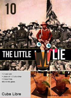 Episode The Little Lie - Cuba Libre -- The truly amazing story of the rum and Coke. Cuba Libre Cocktail, Classic Cocktails, Coke, Coca Cola, Rum, History, Amazing, Glass, Projects