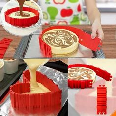 4 Pcs/Lot Kitchen Tools Baking & Pastry Tools Grade Silicone Cake Mold Magic Bake Mould Tools Stitch Any Shape   DIY All Kinds of Baking Cake