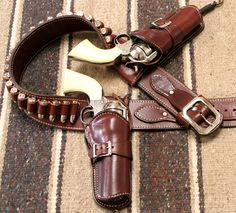 More on Cowboys: The Pistol Holster - Cowboy Holsters, Western Holsters, Pistol Holster, Leather Holster, Rifles, Cowboy Action Shooting, Cowboy Gear, Cowboy Baby, Airsoft