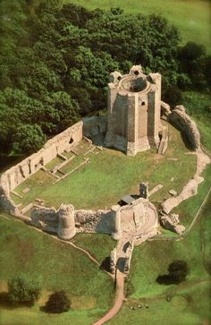 Conisbrough Castle ~ built in the 11th century, South Yorkshire, England