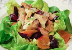 Smoked Trout and Beet Salad with Horseradish #fish #trout