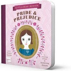 Classic Literature Board Books for BABY!  Moby Dick, Romeo & Juliet, Dracula, Sense and Sensibility, Jane Eyre, and more!