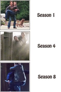 [SET OF GIFS] Jared carrying Jensen over the years in the gag reels.  I love gifs!