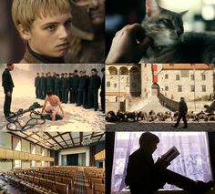 Baratheon/Lannister WW2 Nazi Germany AU #3 Being the sons of an SS officer, Joffrey and Tommen are sent to a prestigious military school to better serve the Third Reich. Joffrey's a natural at their cruel games; Tommen, seeking refuge from bullies, adopts a stray cat. Meanwhile, at home, Myrcella learns about her own role to play. She's certain it doesn't involve helping a known fugitive.