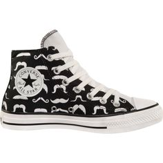 Converse All Star - Mustache shoes Kinda pissed I didn't see these first