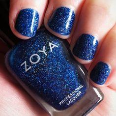 Zoya Dream. So pretty (and only 2 coats). #nails #nailpolish #nailstagram #nailsofinstagram #blue #zoya #beauty #bbloggers