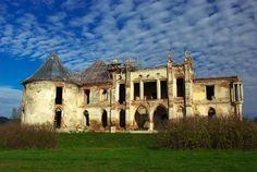 Banffy Castle in Bontida,Transylvania