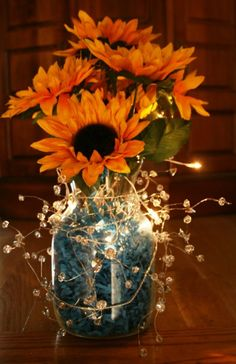 ladies POST YOUR PICS of your diy table centrepieces pulleeease :) « Weddingbee Boards