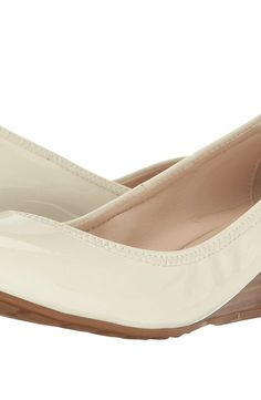 Cole Haan Tali Luxe Wedge 40 (Ivory Patent) Women's Slip-on Dress Shoes - Cole Haan, Tali Luxe Wedge 40, W06423-100, Footwear Closed Slip-on Dress, Slip-on Dress, Closed Footwear, Footwear, Shoes, Gift - Outfit Ideas And Street Style 2017