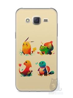 Capa Capinha Samsung J7 Pokémon #1 - SmartCases - Acessórios para celulares e tablets :)