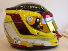 Pascal Wehrlein 2014 Abu Dhabi F Mercedes Test Helmet