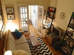 Tesha's Charming Character — Small Cool Contest | Apartment Therapy Location: New York, NY Square Feet: 224