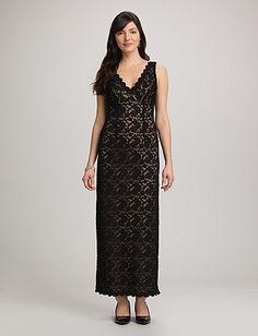 Long Lace Dress | Dressbarn