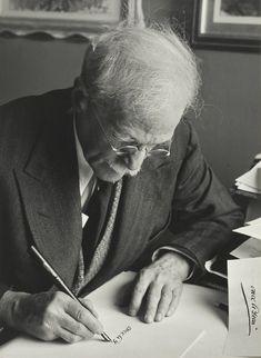 [ A ] Ansel Adams - Portrait of Alfred Stieglitz (1940) | Flickr - Photo Sharing!