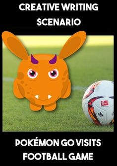 Creative Writing Scenario: Pokemon Go A Pokemon has taken over in this Creative Writing Scenario. This Creative Writing Scenario takes the students on an engaging journey to a football match where the game is hijacked by a Pokemon character. The students decide what happens next.  This pack includes a 5 senses graphic organizer to be completed while they watch the presentation. It is used to generate ideas and used as a basis for extending their vocabulary.
