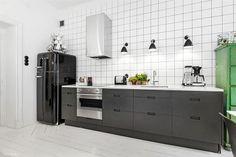 modern kitchen industrial