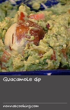 Guacamole dip | This perfect, simple guacamole uses the best avocados mixed with fresh chilli, coriander, onion, tomato and lime. Guacamole should be made just before serving. To help keep the vibrant green colour of the avocados, sit the avocado stones in the prepared guacamole and remove just before serving.  For tasty variations on guacamole dip, try Rachel Allen's guacamole dip recipe, or Kathy Kordalis's guacamole dip recipe. Also, browse our Mexican recipes for more gourmet… Fresh Onion Recipe, Fresh Tomato Recipes, Chilli Recipes, Onion Recipes, Avocado Recipes, Drink Recipes, Gourmet Recipes, Guacamole Dip, Guacamole Recipe
