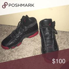 6aa31e66155f Shop Kids  Jordan Red Black size Sneakers at a discounted price at Poshmark.