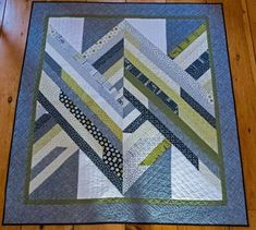 Challenge Quilt using 2.5″ strips   The Potting Shed Quilter