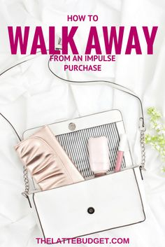 Impulse purchases can wreck havoc on our budgets, but sometimes it can be so hard to walk away! Learn how to walk away from an impulse purchase.