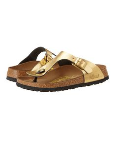 Metallic Gold Birkenstocks