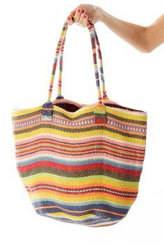e4bdd1ae631 Summer red striped tote by Billabong #silkroll Red Stripes, Rolls,  Billabong, Handbags