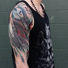 A biomechanical tattoo is a body art that melds some parts of the body by use of a machine to form a tattoo imagery of robotic or machine parts.