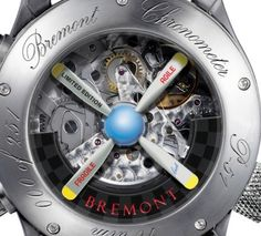 Bremont P-51 (2010) with parts from a battle-proven P-51 Mustang