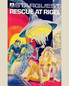 WEBSTA Rescue at Rigel Computer Game By Epyx). Rescue at Rigel is a science fiction RPG, where your aim is to rescue 10 human captives in 60 minutes. Acorn Computers, History Of Video Games, Drawing Practice, Gaming Computer, Video Game Console, Arcade, Comic Art, Science Fiction, Videogames