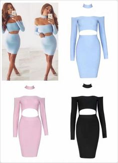 A Brand new bandage cut out choker dress